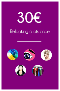 30€ Relooking à distance